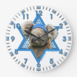 Estrella de Jánuca de David - oso de koala Relojes