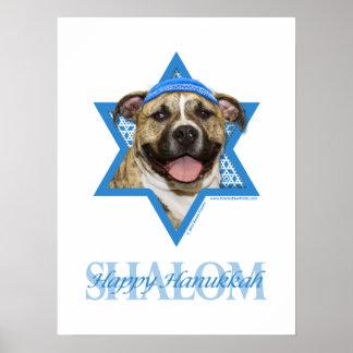 Estrella de Jánuca de David - Pitbull - Tigger Impresiones