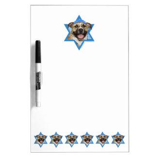 Estrella de Jánuca de David - Pitbull - Tigger Pizarra Blanca