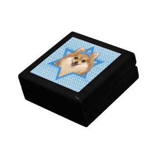Estrella de Jánuca de David - Pomeranian Caja De Recuerdo