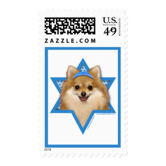 Estrella de Jánuca de David - Pomeranian Sello