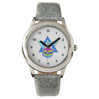 Estrella de Jánuca de David Relojes De Mano