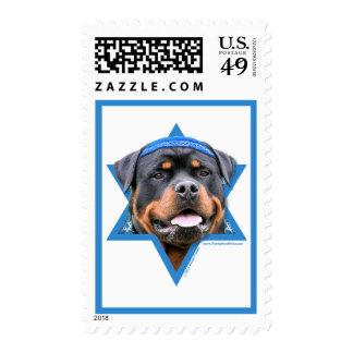 Estrella de Jánuca de David - Rottweiler Envio