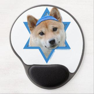 Estrella de Jánuca de David - Shiba Inu Alfombrillas Con Gel