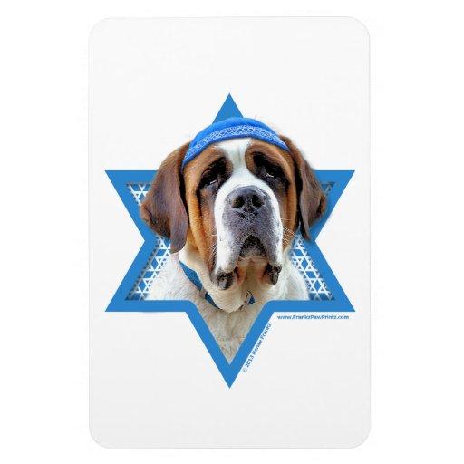 Estrella de Jánuca de David - St Bernard Iman Rectangular