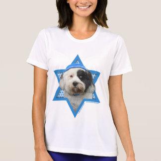 Estrella de Jánuca de David - Terrier tibetano Camiseta