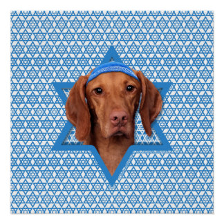 Estrella de Jánuca de David - Vizsla - Reagan Posters