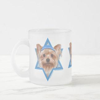 Estrella de Jánuca de David - Yorkshire Terrier Taza