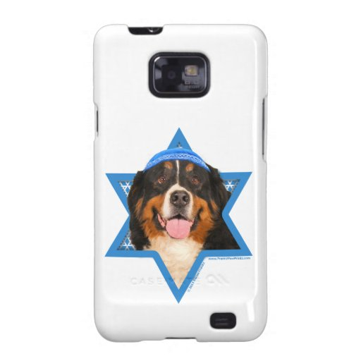 Estrella de Jánuca del perro de David - de montaña Galaxy SII Funda