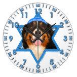 Estrella de Jánuca del perro de David - de montaña Relojes