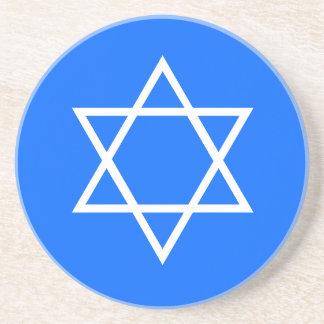 Estrella de Jánuca del práctico de costa de David Posavasos Personalizados