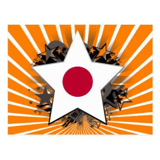 Estrella de Japón Tarjetas Postales