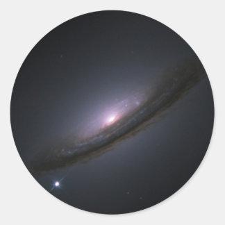 Estrella de Kepler Pegatina Redonda