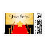 Estrella de la alfombra roja de Hollywood Sellos Postales