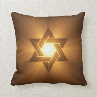 Estrella de la almohada de David Cojín Decorativo
