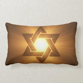 Estrella de la almohada de David Cojín Lumbar