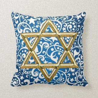 estrella de la almohada de tiro de David Cojín Decorativo