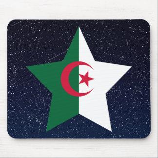 Estrella de la bandera de Argelia en espacio Tapete De Ratón