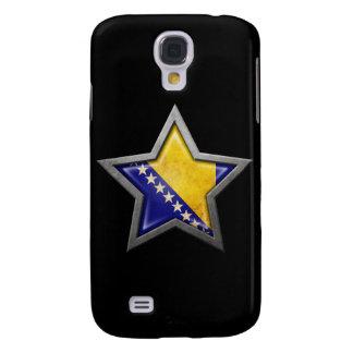 Estrella de la bandera de Bosnia y Hercegovina en  Funda Para Galaxy S4