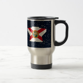 Estrella de la bandera de la Florida en espacio Taza Térmica