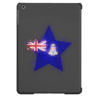 Estrella de la bandera de las Islas Caimán que Funda Para iPad Air