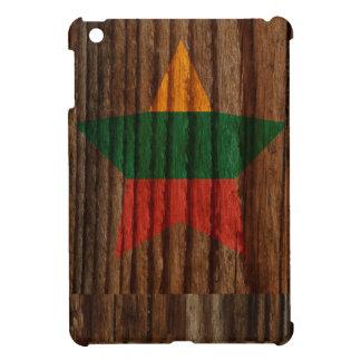 Estrella de la bandera de Lituania en el tema de