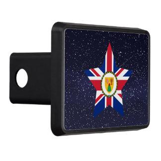 Estrella de la bandera de Turks and Caicos Islands Tapa De Tráiler