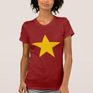 Estrella de la bandera de Vietnam Camisetas