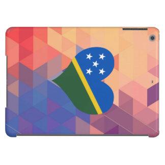 Estrella de la bandera del isleño de Solomon en un Funda Para iPad Air