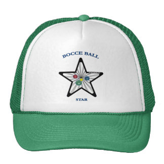 Estrella de la bola de Bocce Gorro