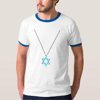 Estrella de la camisa del collar de David