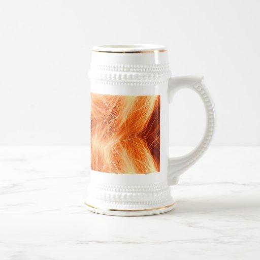 Estrella de la chispa tazas de café