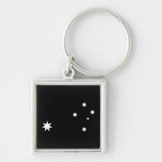 Estrella de la cruz del sur y de la Commonwealth Llavero Personalizado