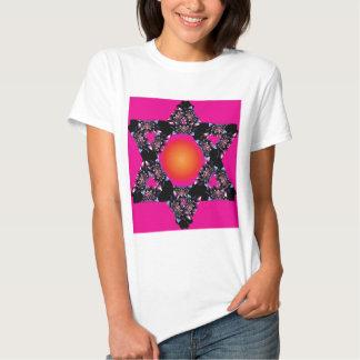 Estrella de la flor remera