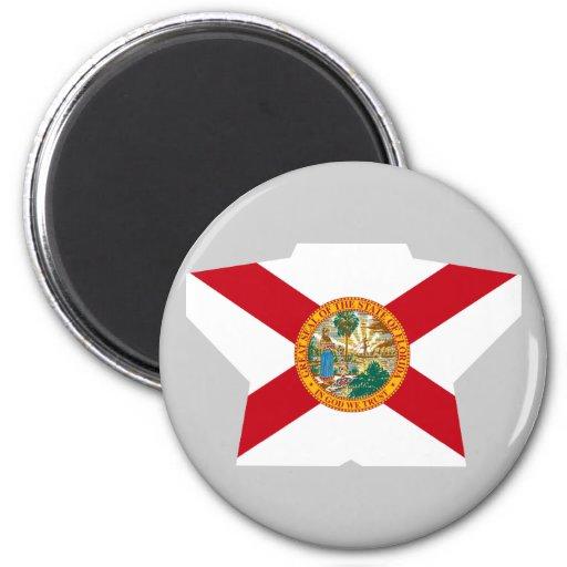 Estrella de la Florida Imán Redondo 5 Cm