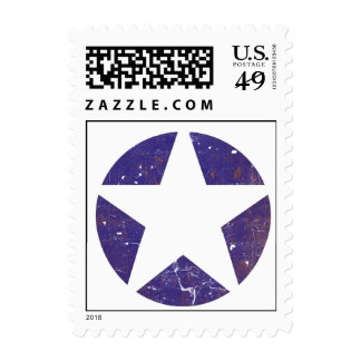 Estrella de la fuerza aérea del vintage sello