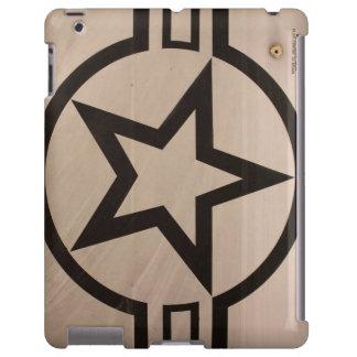 Estrella de la fuerza aérea funda para iPad