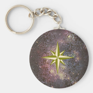 Estrella de la galaxia llaveros personalizados