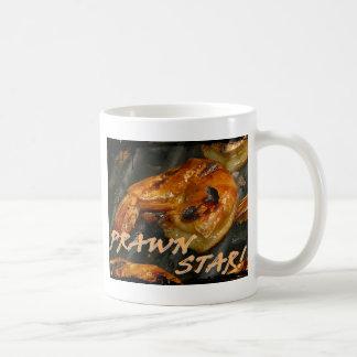 Estrella de la gamba taza de café