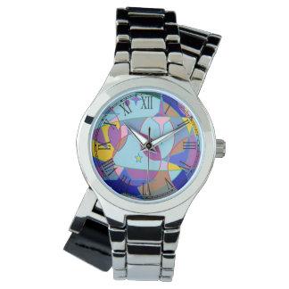 Estrella de la gema relojes de pulsera