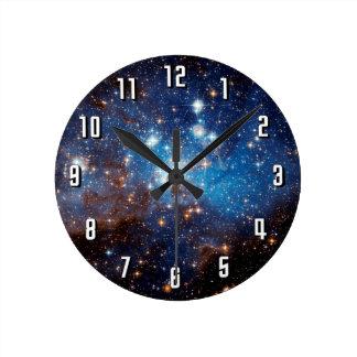 Estrella de la LH 95 que forma la región Reloj De Pared