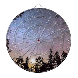 Estrella de la luz de la estrella brillante tabla dardos