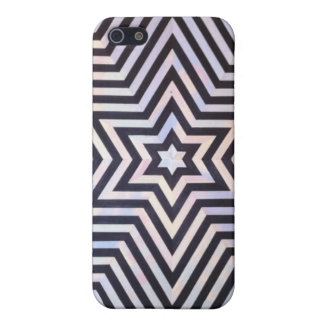 Estrella de la meta iPhone 5 protector