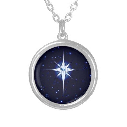 Estrella de la natividad del navidad colgante