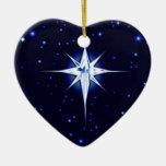 Estrella de la natividad del navidad adorno de reyes