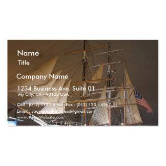 Estrella de la nave de la India Tarjetas De Visita
