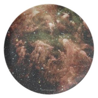Estrella de la nebulosa de Carina Plato