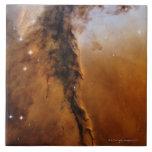 Estrella de la nebulosa de Eagle Azulejo Cuadrado Grande
