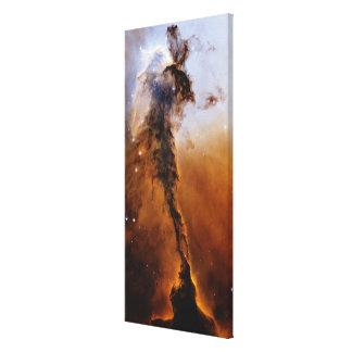 Estrella de la nebulosa de Eagle Lona Envuelta Para Galerias