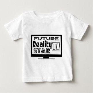 Estrella de la realidad TV Playera De Bebé